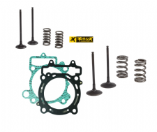 PROX EXC-F 350 12-16 Steel Intake & Exhaust Valves Springs Kit Head Base Gasket